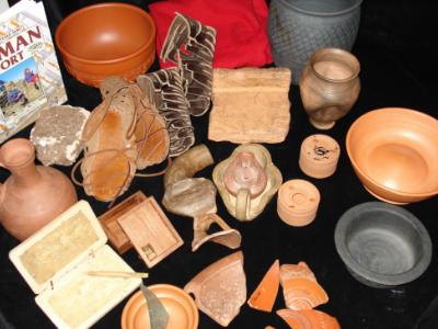 Roman Artefacts Loan Box