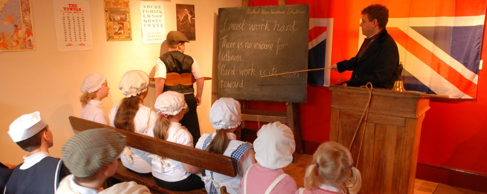 WH Victorian Workhouse Schoolroom